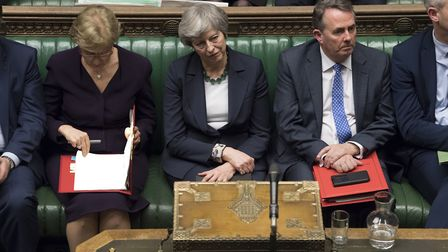 Theresa May was defeated for the second time in the House of Commons. Photograph: UK Parliament/Mark
