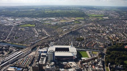 Wales' capital city of Cardiff