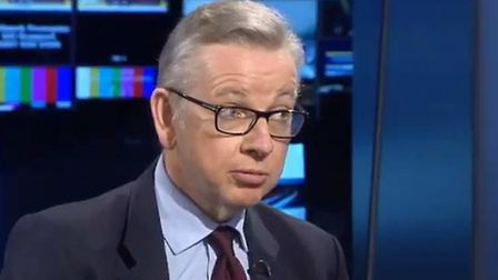 Michael Gove's comments were used in the argument. Photograph: Sky.