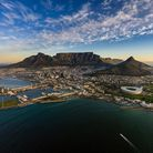 Aerial shot of Table Mountain, Cape Town. Picture: Getty Images