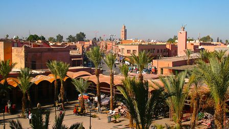 Marrakesh's Medina quarter in Morocco, Northern Africa. Picture: Getty Images