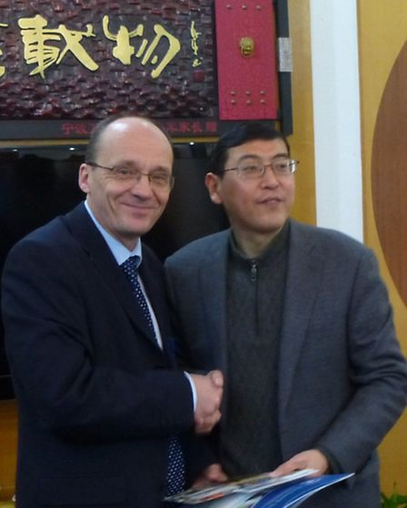 Julian Baldwin on a fact finding visit to China to improve maths and science lessons in England.