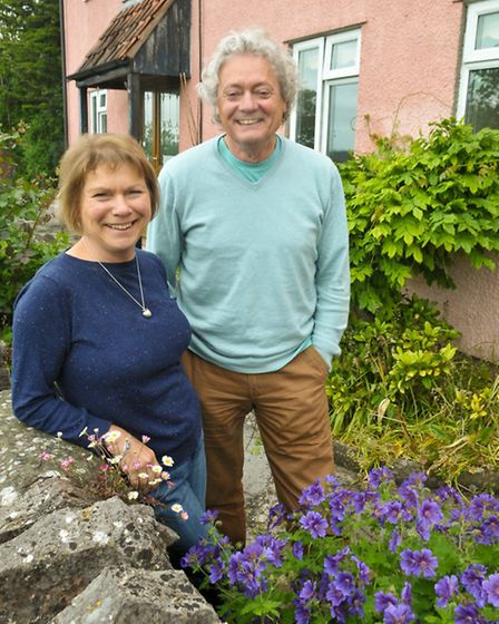 David and Bev Westrup whos B&B has won a certificate of excellence on Trip Advisor.