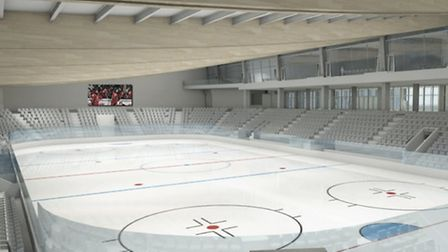 This 10,000-seater ice hockey arena could feature in a new £20million winter sports complex in Westo