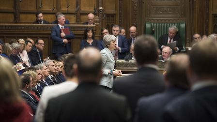 MPs vote to take back control. Photograph: UK Parliament/Mark Duffy/PA Wire.