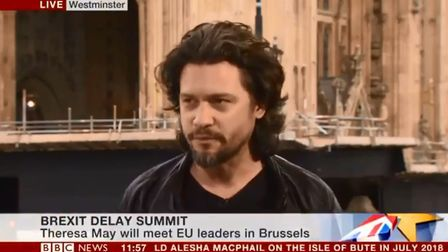 Campaigner Dr Mike Galsworthy appeared on BBC News, to discuss the viral anti-Brexit petition that i
