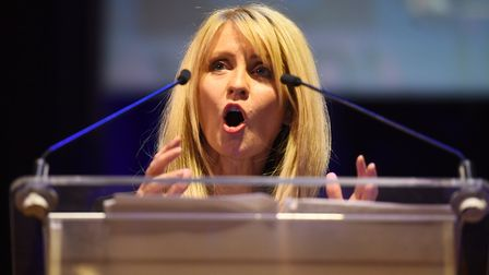 Former Work and Pensions Secretary Esther McVey. Picture: PA/Kirsty O'Connor