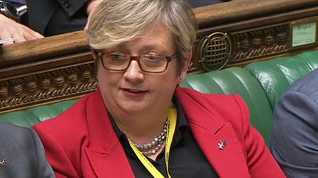 SNP MP Joanna Cherry in the House of Commons