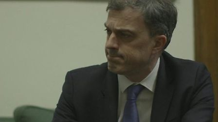 Tory chief whip Julian Smith appears in a new BBC documentary. Photograph: BBC
