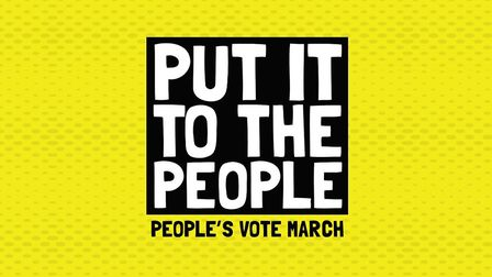 The Put It To The People March from the People's Vote campaign.