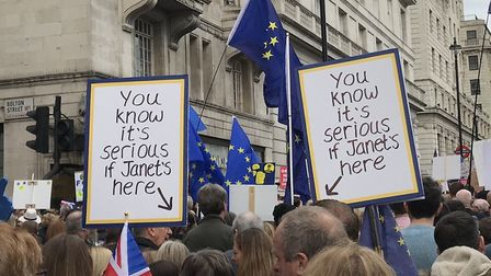 People's Vote Placards (Robin Hargreaves/Supplied)
