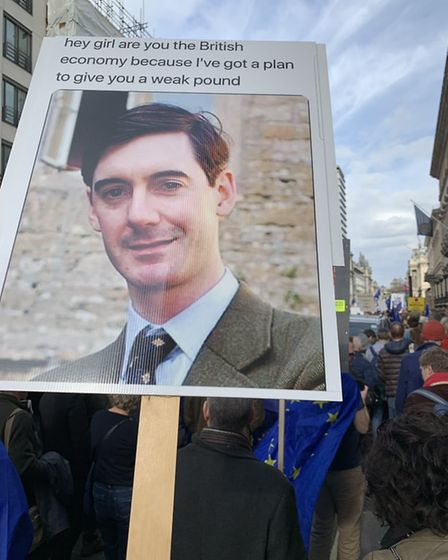 People's Vote Placards (MikeEcoPR/Supplied)