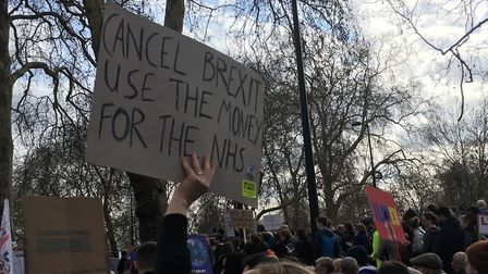People's Vote March Placards (Jono Read)