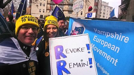 People's Vote Placards (Supplied/Bobby Mackie)