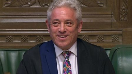 Speaker John Bercow in the House of Commons. Photograph: House of Commons/PA Wire