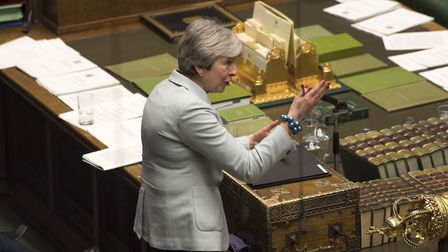 Theresa May in the House of Commons. Photograph: UK Parliament/Mark Duffy.
