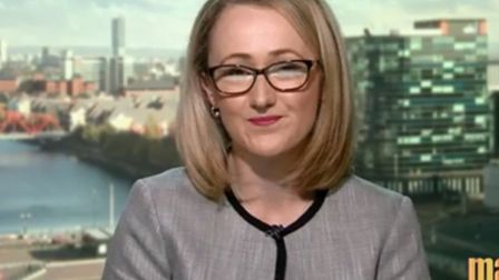 Rebecca Long-Bailey on the Andrew Marr show. Photograph: BBC.