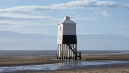 The Lighthouse at Burnham-on-Sea, image via Wikipedia under Creative Commons licence code