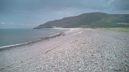 Porlock Beach, image via Wikipedia under Creative Commons Licence Code