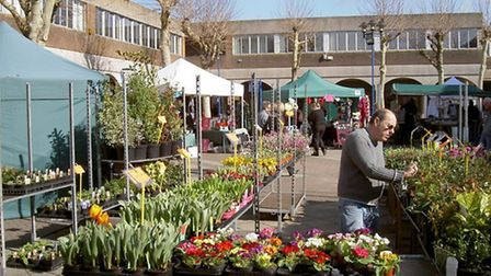 Nailsea Market. (Market Day by Neil Owen licensed under CC BY-SA 2.0)