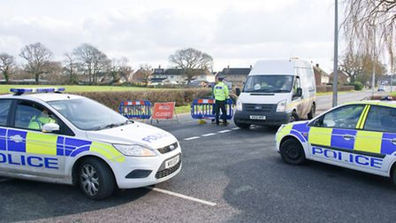 Clevedon Road was closed by Avon and Somerset Constabulary.