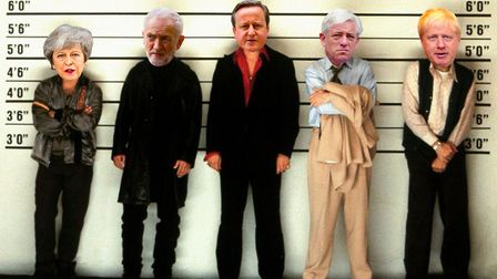 Unlike in the 1995 film 'The Usual Suspects', there may be no single mastermind behind the Brexit sh
