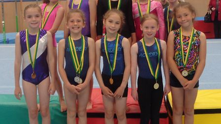 High Down Junior School's gymnastics team will compete in the regional final today (Wednesday).