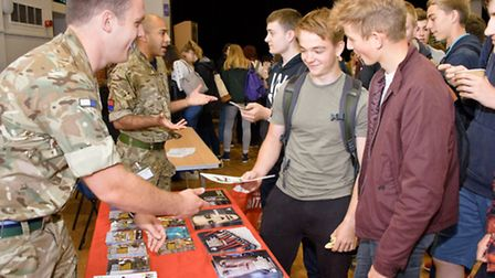 Backwell School, careers day.