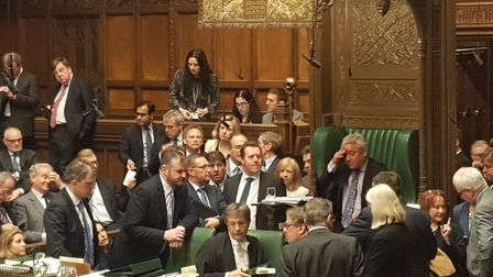A photo capturing the Commons' mood of exasperation and frustration has attracted plenty of jokes an
