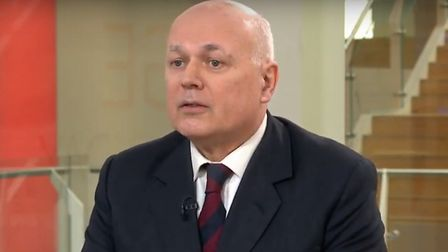 Conservative MP Iain Duncan Smith speaking on Sky News' Sophy Ridge on Sunday (Pic: Sky News)