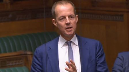 MP Nick Boles speaking in the House of Commons. Photograph: House of Commons.