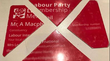 Labour members have been cutting up their cards after the party's decision to support a pro-Brexit m