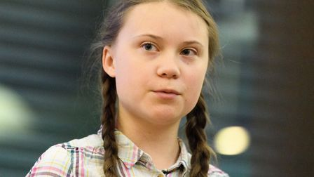 Swedish environmental campaigner Greta Thunberg. (Photo by Leon Neal/Getty Images)