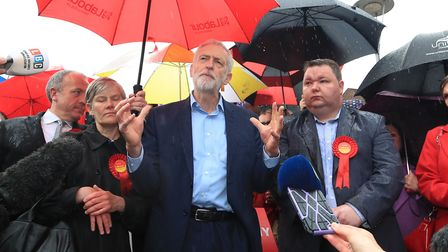 Labour Party leader Jeremy Corbyn. Photograph: Peter Byrne/PA Wire.