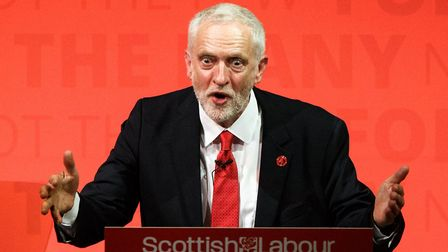 Labour leader Jeremy Corbyn. (Photo by Robert Perry/Getty Images)