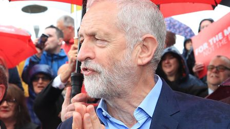 Labour Party leader Jeremy Corbyn. Photograph: Peter Byrne/PA Wire