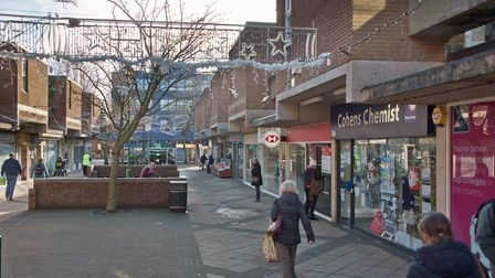 Crown Glass Shopping Centre and Colliers Walk, Nailsea. Picture: MARK ATHERTON