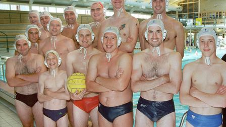 WaterPoloTeam ; Water Polo Weston Team Pic at Hutton Moor.18-6-00 J15-88-