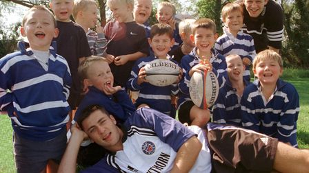 BoSRugby2 ; Burnham on Sea Junior Rugby Club Open Day, with special guests from Bath Rugby Club,