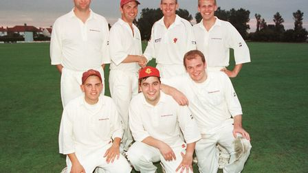 SixASide1 ; Pro-Am Six a Side Cricket Tournament at Weston CC.Winning Team Pricewaterhouse Coope