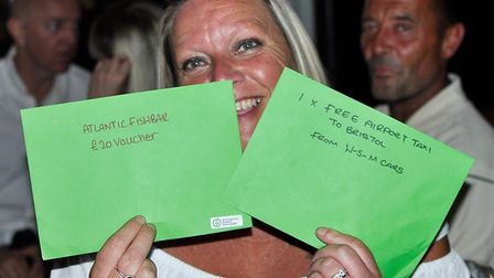 Guests at Huntington's Disease Association fundraiser on Weston's Grand Pier. Picture: Danielle Long