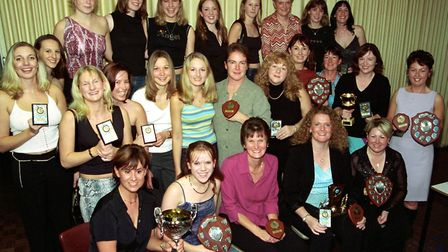 Netball League presentation evening at Weston Police Station.13-10-01 S10-59-01-23