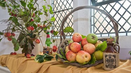 St Barnabus Church flower festival. Picture: MARK ATHERTON