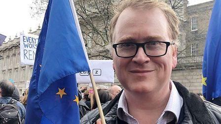 Pierre Kirk is the founder and leader of the new UK EU Party - or 'UKEUP' for short. Picture: the UK