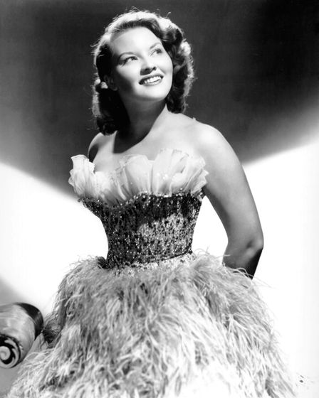 NEW YORK - CIRCA 1949: Singer Patti Page poses for a portrait circa 1949 in New York City, New York