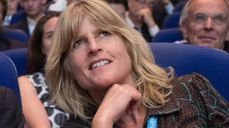 Rachel Johnson has announced she will stand as a Change UK MEP candidate in the Eu elections . Pictu