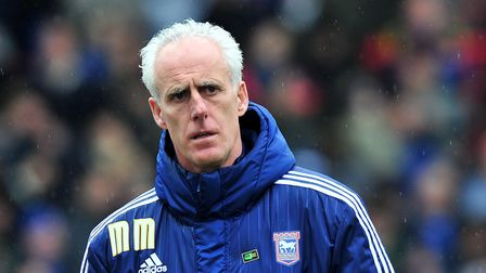 Mick McCarthy, Manager of Ipswich Town