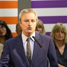 Former BBC news journalist Gavin Esler is standing for Change UK. Photograph: Rod Minchin/PA Wire/PA