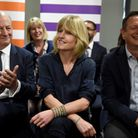 Rachel Johnson at the launch of The Independent Group European election campaign. (Photo by Finnbarr