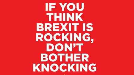 The New European's handy poster to keep Brexiteers away during elections.